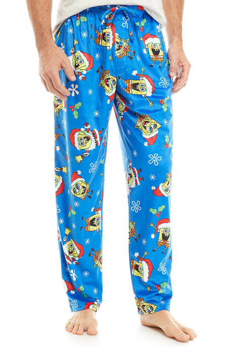 Spongebob Mistletoes Pajama Pants