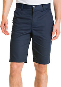 Classic-Fit Flat-Front Shorts