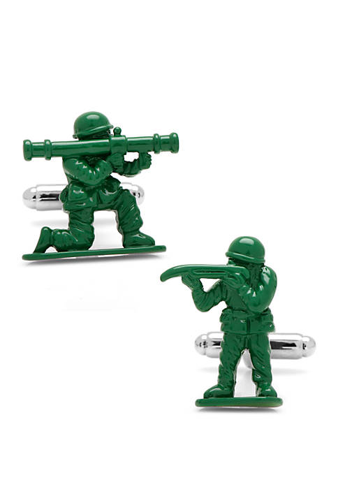 Green Army Men Cufflinks