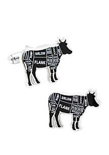 Cufflinks Inc Beef Butcher Cuts Cufflinks