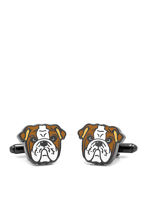 Cufflinks Inc English Bulldog Cufflinks