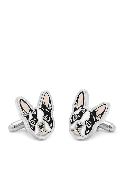 Cufflinks Inc Boston Terrier Cufflinks