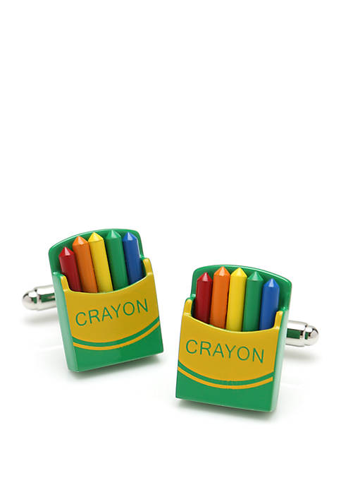 Cufflinks Inc Crayon Box Cufflinks