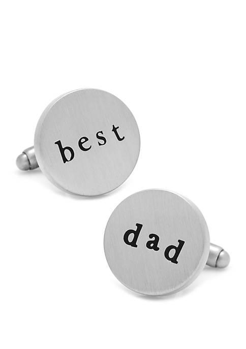 Cufflinks Inc Best Dad Cufflinks