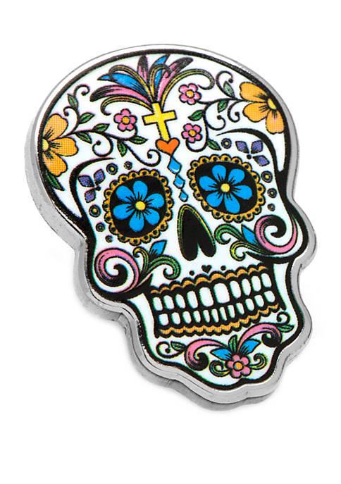 Cufflinks Inc Day of the Dead Skull Lapel