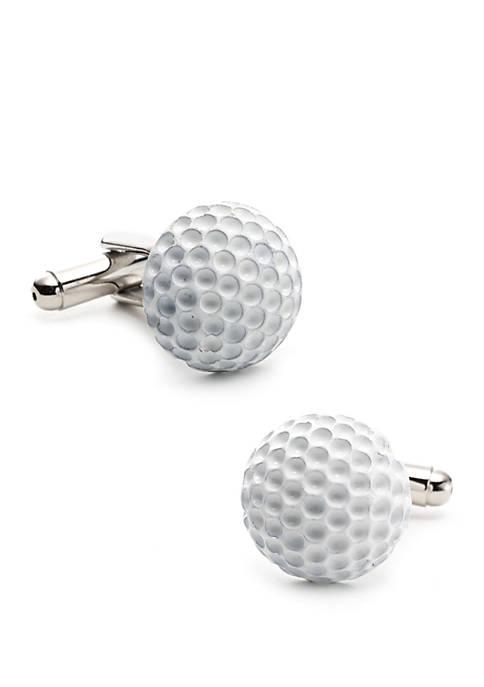 Cufflinks Inc Enamel Golf Ball Cufflinks