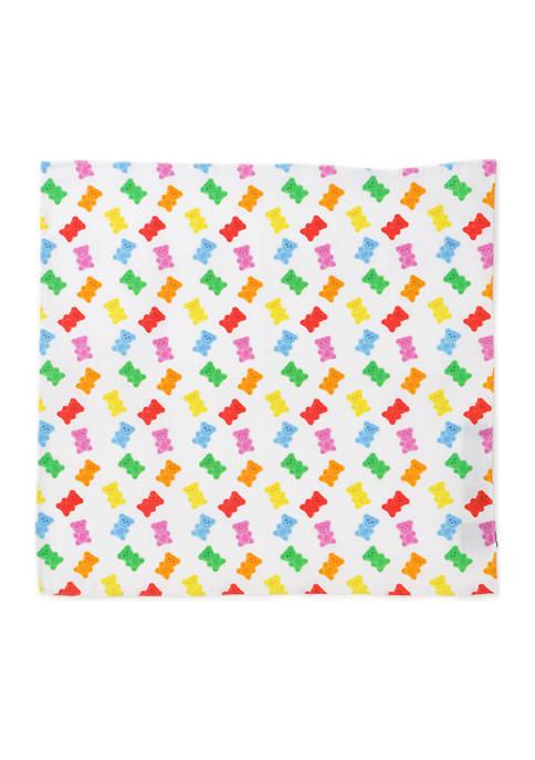 Cufflinks Inc Gummy Bear Pocket Square