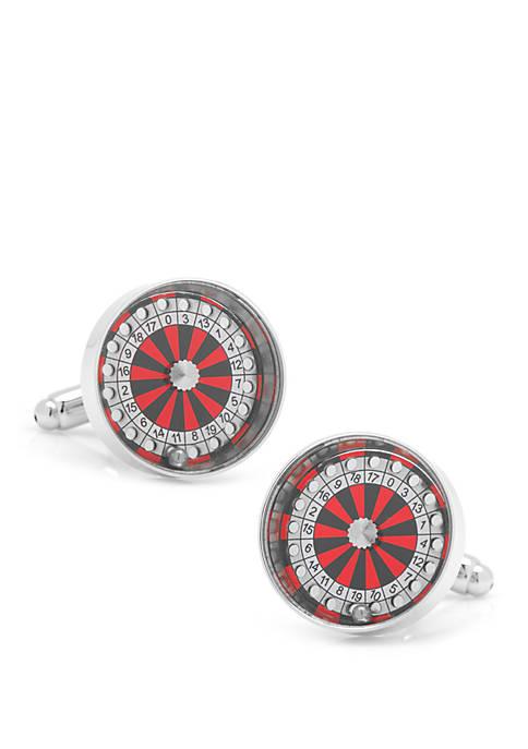 Cufflinks Inc Roulette Wheel Cufflinks