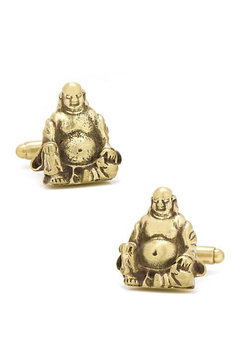 Cufflinks Inc Smiling Buddha Cufflinks