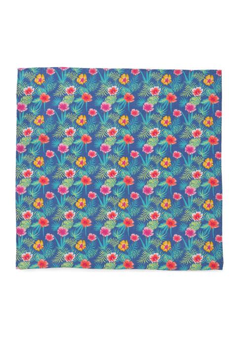 Cufflinks Inc Tropical Pocket Square