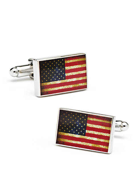 Cufflinks Inc Vintage USA Flag Cufflinks