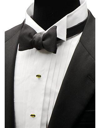 outlet for sale marketable nice cheap Enamel Batman Tuxedo Studs