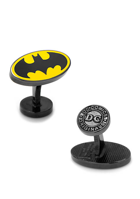 DC Comics Transparent Enamel Batman Cufflinks