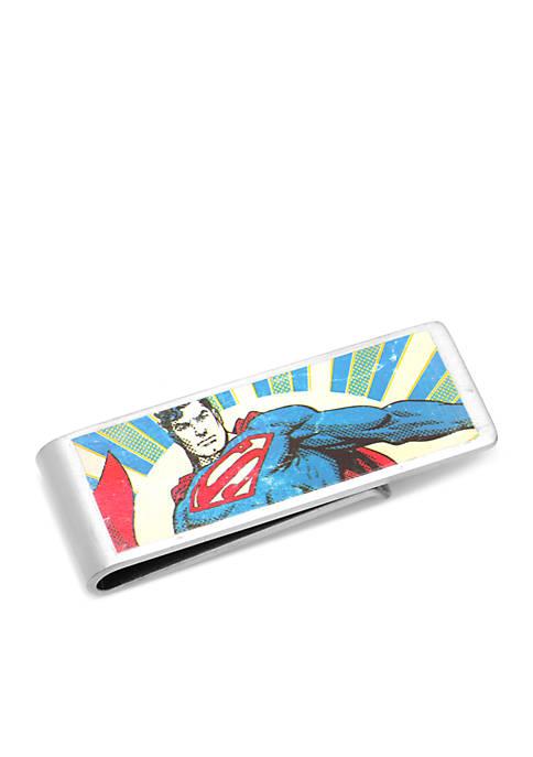 Cufflinks Inc Vintage Superman Money Clip