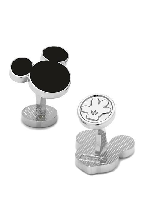 Cufflinks Inc Disney Mickey Mouse Silhouette Cufflinks