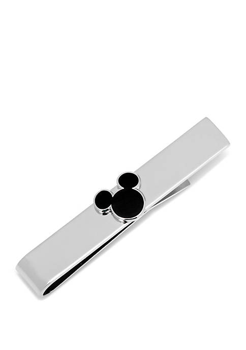 Cufflinks Inc Disney© Black Mickey Mouse Silhouette Tie