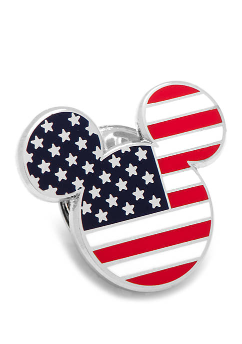 Cufflinks Inc Disney© Stars and Stripes Mickey Mouse