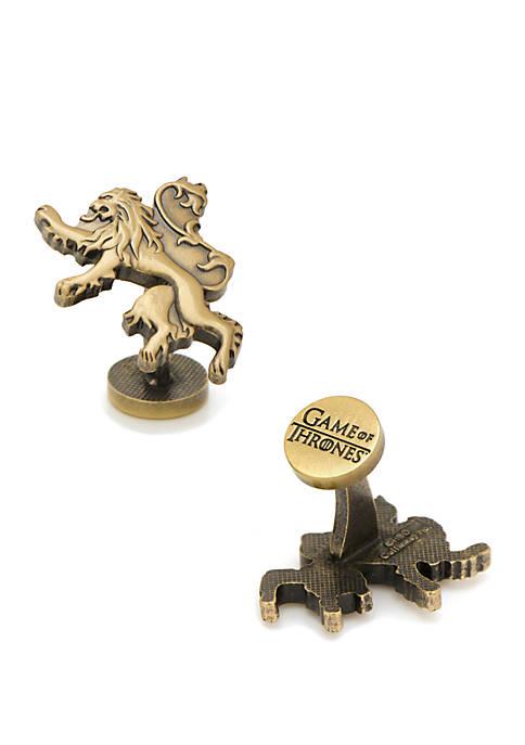 Cufflinks Inc Game of Thrones Lannister Lion Sigil