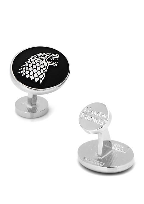 Cufflinks Inc Game of Thrones House Stark Cufflinks