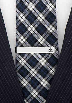 2524a323aa6d ... Tie Bar Cufflinks Inc Deathly Hallows