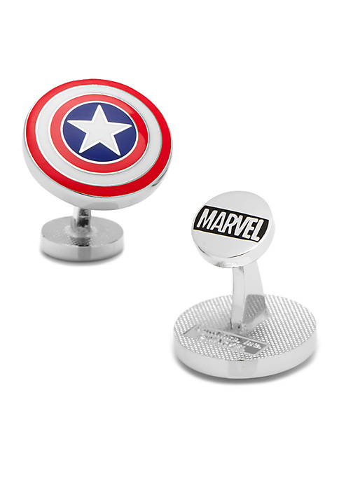 Cufflinks Inc Captain America® Shield Cufflinks