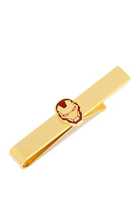 Cufflinks Inc Gold Plated Iron Man Tie Bar