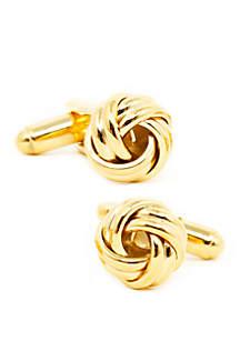 Cufflinks Inc Ox & Bull Trading Co Gold Knot Cufflinks