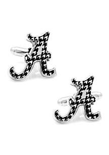 Alabama Crimson Tide Houndstooth Cufflinks