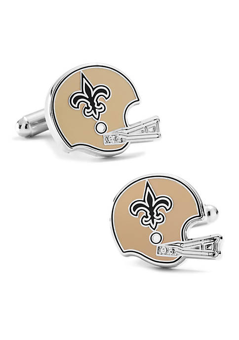 Cufflinks Inc Retro New Orleans Saints Helmet Cufflinks