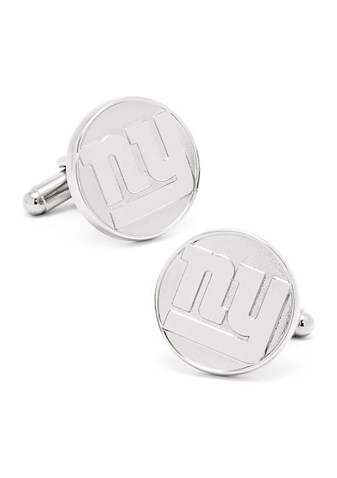Cufflinks Inc NY Giants Silver Edition Cufflinks
