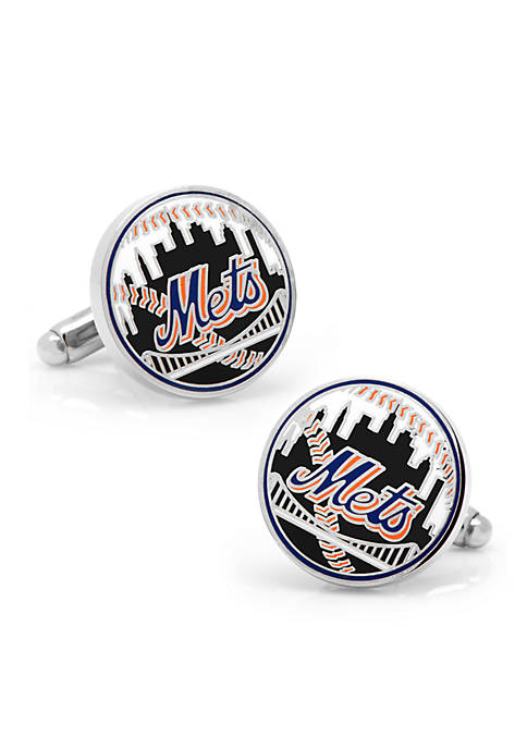 Cufflinks Inc New York Mets Baseball Cufflinks