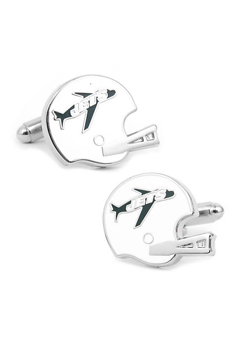 Cufflinks Inc Retro New York Jets Helmet Cufflinks