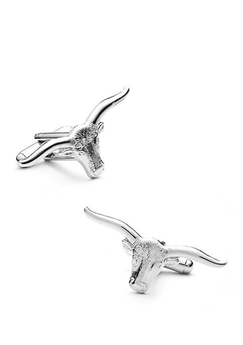 Longhorn Steer Cufflinks