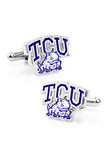 TCU Horned Frog Cufflinks