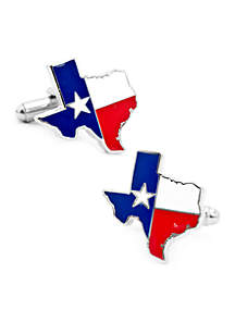 Cufflinks Inc Texas Flag Cufflinks