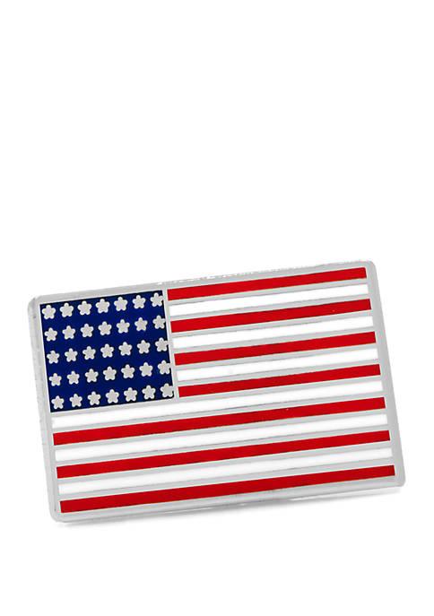 Cufflinks Inc American Flag Lapel Pin