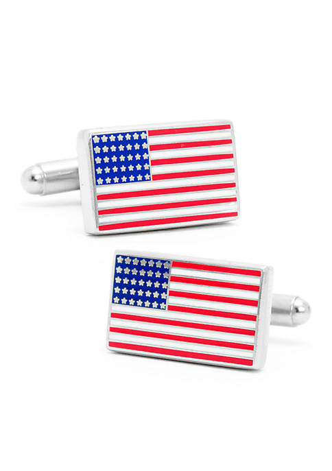 Cufflinks Inc American Flag Cufflinks