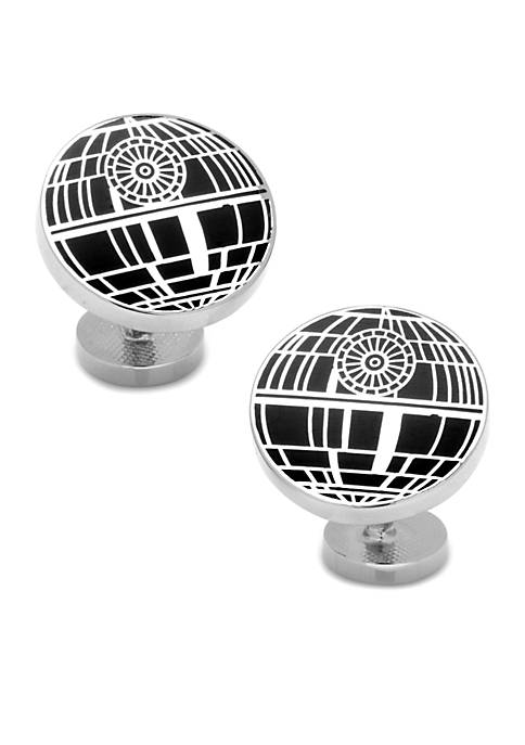 Cufflinks Inc Recessed Matte Death Star Cufflinks