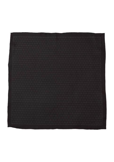 Darth Vader Black Silk Pocket Square