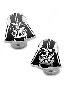 Cufflinks Inc Recessed Matte Darth Vader Head Cufflinks