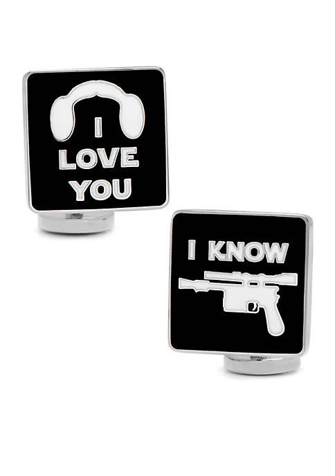 I Love You I Know Icon Cufflinks