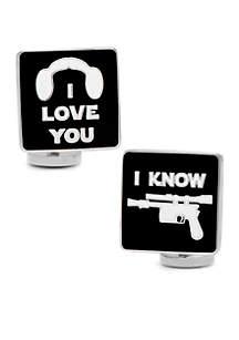 Cufflinks Inc I Love You I Know Icon Cufflinks