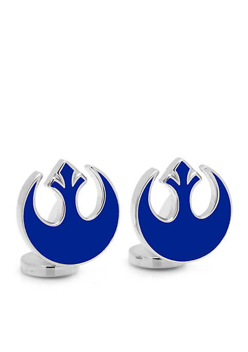 Cufflinks Inc Blue Rebel Symbol Cufflinks