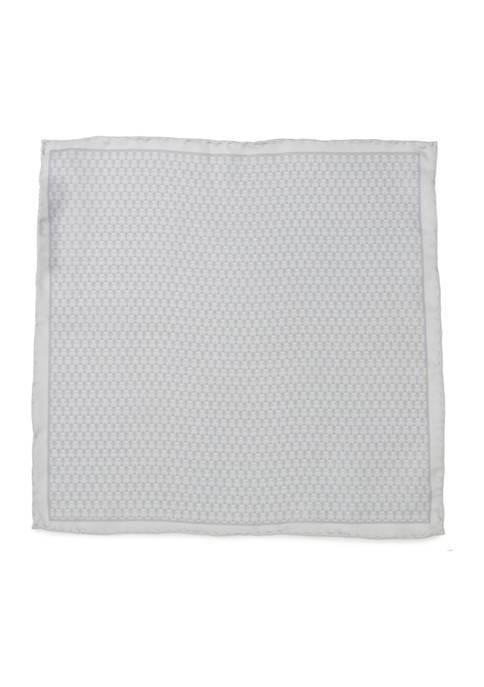 Stormtrooper White Silk Pocket Square
