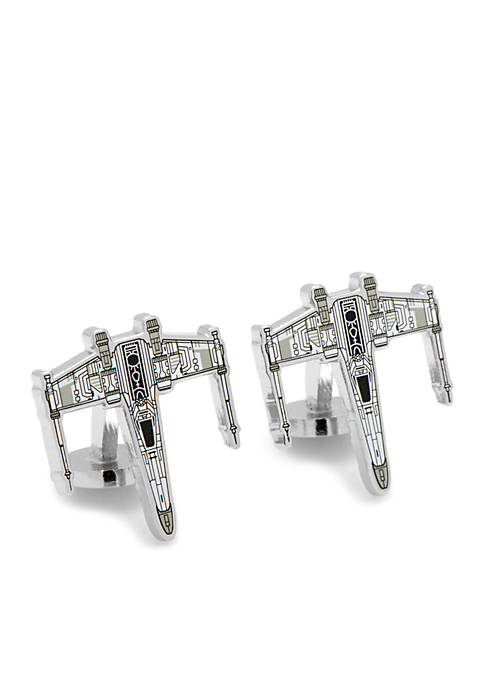 Cufflinks Inc Star Wars X-Wing Starfighter Blueprint Cufflinks