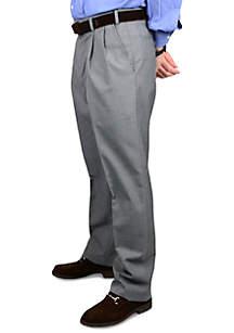 Wool Self Sizer Waistband Trousers