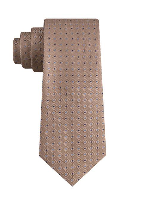 Eagle Greenville Diamond Neat Tie
