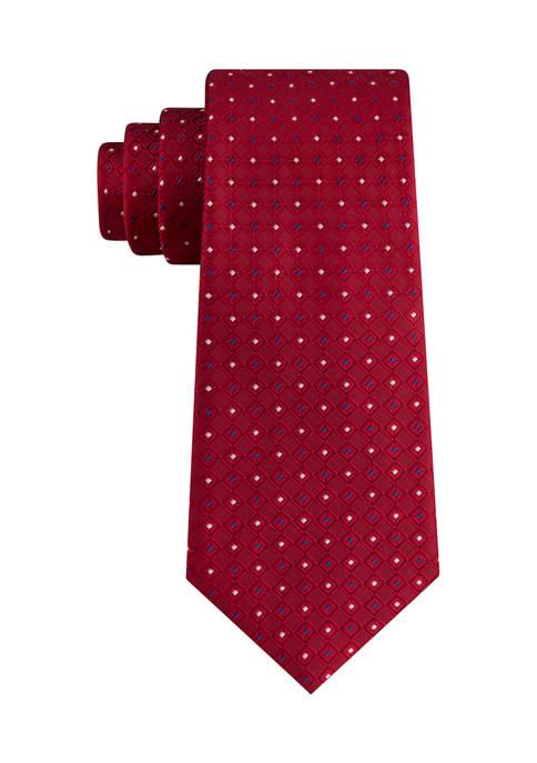 Greenville Diamond Neat Tie
