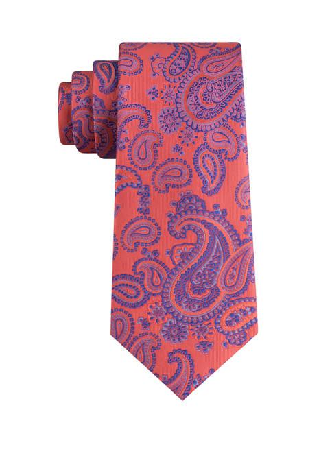 Eagle Walhalla Paisley Silk Woven Tie