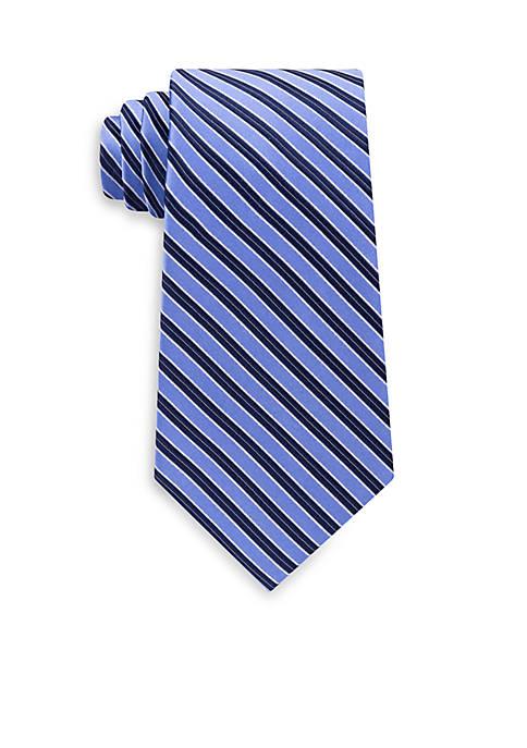 Eagle Double Rib Stripe Tie